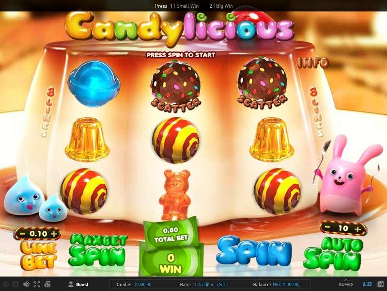 Вулкан: Обзор игровых автоматов Candylicious