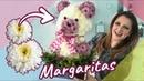 Osito Floral 🌸 Regalo con flores Mamá 🌼 Arreglo de Flores 💐 Chuladas Creativas Margaritas DIY