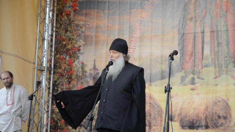16.09.18_заключительное слово О.Алексии по окончании праздника в Аляухово