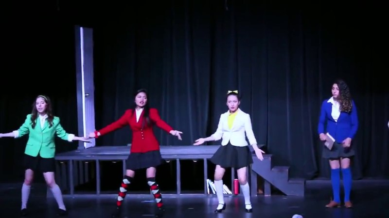Illegal Heathers - Candy Store, aka the only good highlight of this production