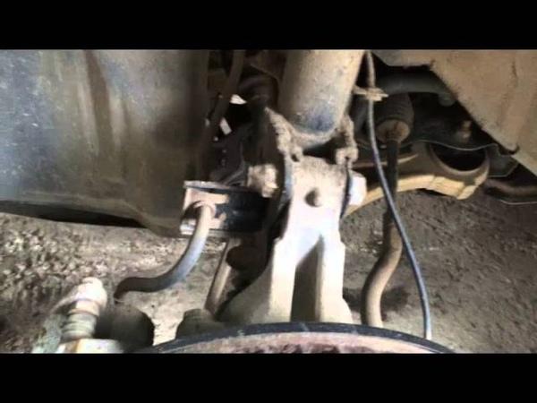 Снимаем переднюю стойку на ниссан мурано Z51 2010 года Nissan Murano