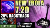 OMG BASH LORD + RAIDBOSS EPIC Faceless Void 3K HP Backtrack 7.20 META WTF Craziest Dota 2 Carry