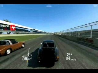 Real Racing 3 Porsche 911 carrera RS 2.7 Alone race один на один гонка на андрои Gameolayд