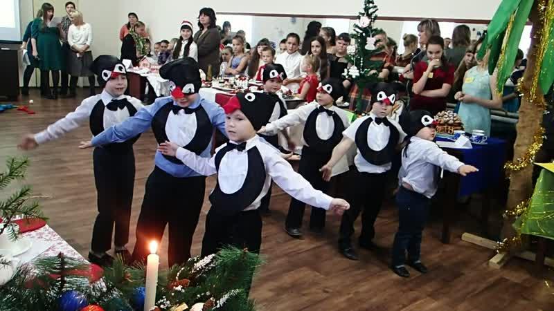 Наши пингвины на конкурсе!