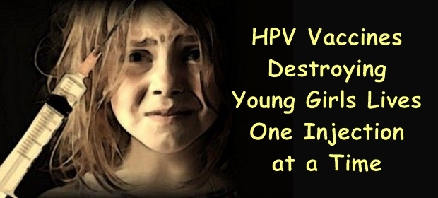 Una sola iniezione di vaccino HPV per distruggere una vita..