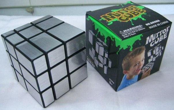 Продам зеркальный кубик рубика