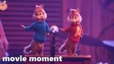 Элвин и бурундуки Грандиозное бурундуключение (2015) - Выступление в баре (37) movie moment