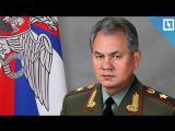 Сергей Шойгу поздравил с наступающим Новым Годом