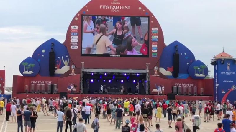 Зена и Север.17 - FIFA FAN FEST (Сочи, 2018)