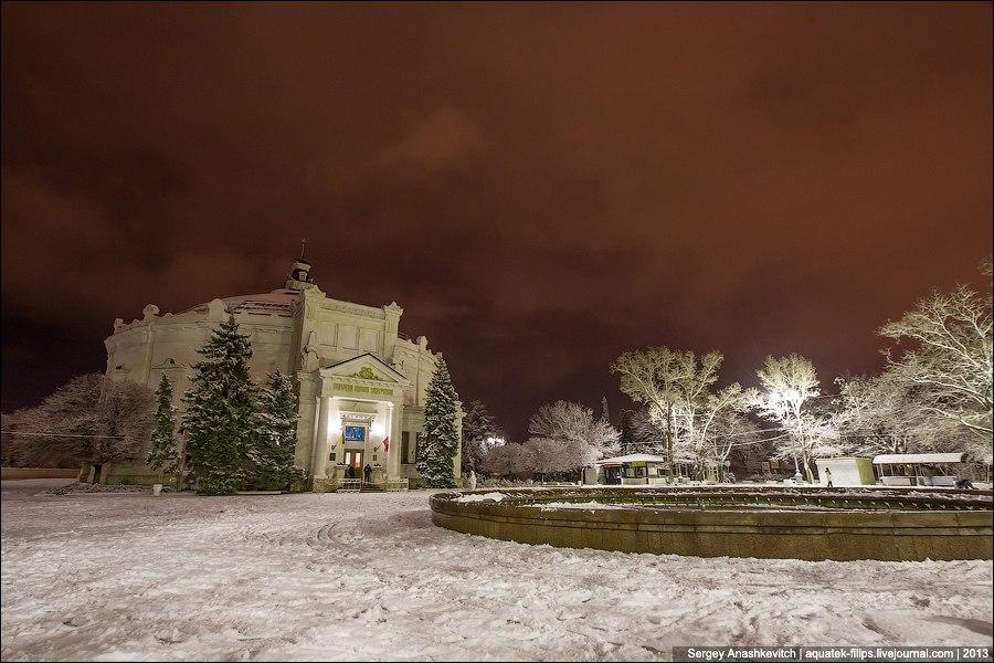 Вечерний Севастополь. Панорама. Автор фото С.Анашкевич