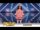 Sophie Fatu The CUTEST 5 Year Old Audition Ever America's Got Talent 2018