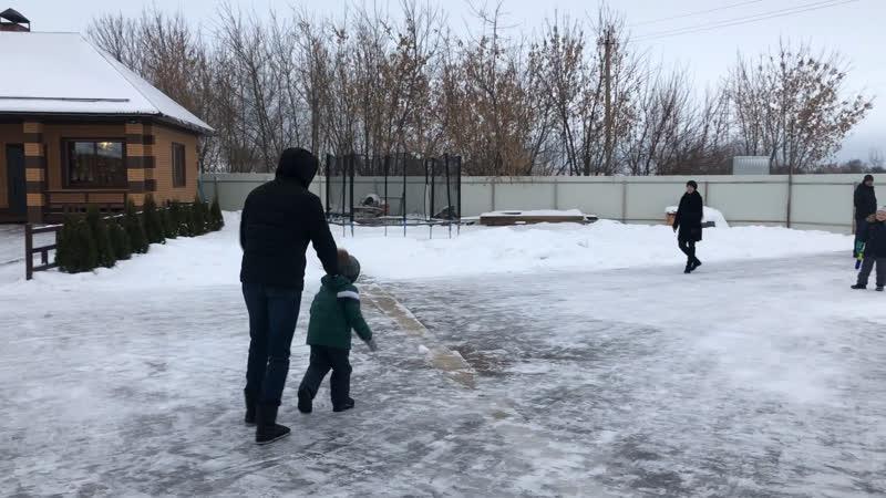 Зимние игры на свежем воздухе👌