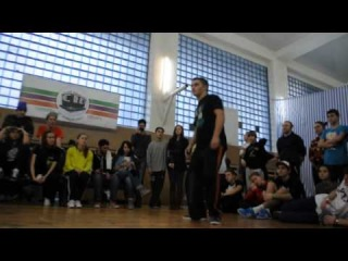 Al (win) vs Mel хип хоп / Accident battle 15/12/13 / ТВЦ Штаб-Квартира