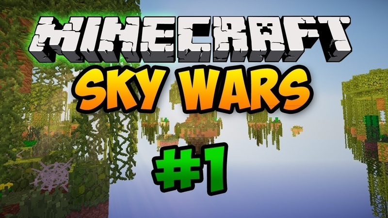 ИГРАЕМ НА SkyWars В VimeWorld 1 | Minecraft