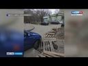 Неизвестные раскопали траншею в районе Стрелки