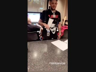 Bottle flip purpp