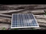 Обзор гибкой солнечной панели 50 Ватт 12 вольт