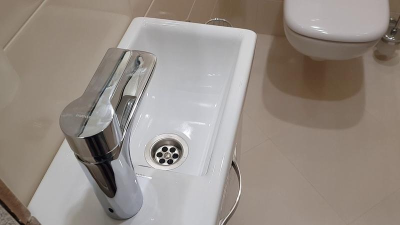 Ремонт ванной и туалета в Нижнекамске, удачное решение! Отзыв заказчицы в комментариях