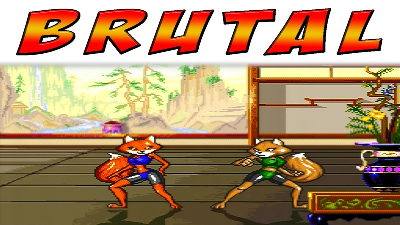 Brutal Paws of Fury - Foxy Roxy (Hardest Difficulty) [SNES]