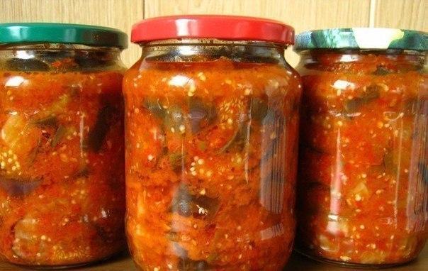10 вкусных салатов на зиму. 1. Салат на