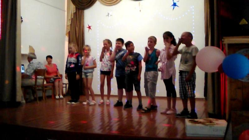 День творчества, 2-3 класс, отряд Комета, поем как индейцы