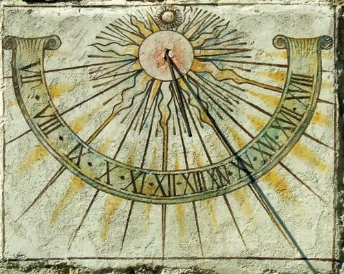 «Вот, я возвращу назад на десять ступеней солнечную тень, которая прошла по ступеням Ахазовым. И возвратилось солнце на десять ступеней по ступеням, по которым оно сходило» Библия. Исаия 38:8