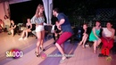 Pako Sanmartin and Olga Saprunova Salsa Dancing in Malibu at The Third Front 2018 Sat 04 08 2018