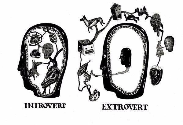 20 отличий человека, в котором уживаются интроверт и экстраверт.