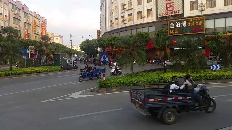 Т-образный перекресток в Китае