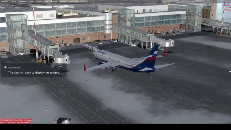 P3D Екатеринбург - Казань boeing 737