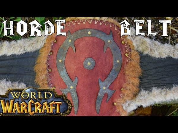 How To Make a Warcraft Orc Armor - the Belt - Horde Cosplay - Props Tutorials