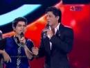 •2• Шахрукх Кхан на музыкальном конкурсе талантов Ka Maha Muqqabla 2010 ( 2 часть)