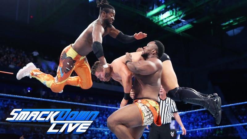 The New Day vs. The Miz, Samoa Joe Rusev: SmackDown LIVE, June 5, 2018