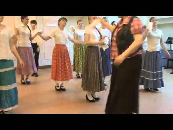 Открытый урок по традиционному танцу 6 класс
