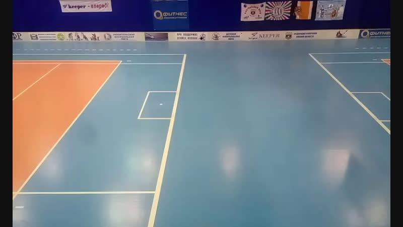 Новогодний турнир по флорболу среди детско-юношеских команд. Энергия - Юность (2007-2008 г.р)