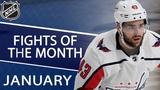 Top NHL fights of January 2019 NHL NBC Sports