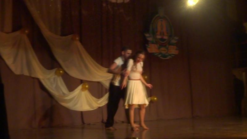 Виктория Гущенко и Сергей Никифоров - танец влюбленной закарпатской пары