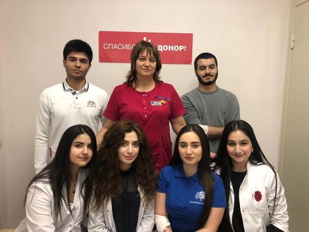 Азербайджанский клуб Сеченовского университета празднует День донора