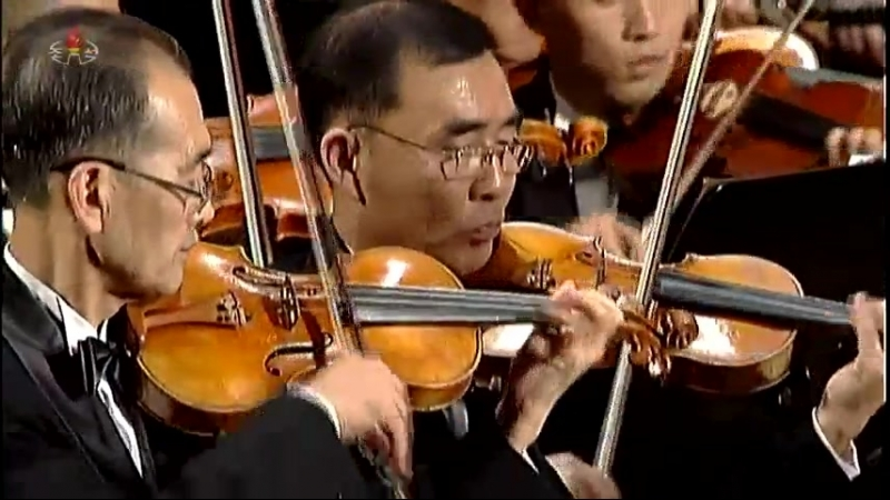 조선민주주의인민공화국창건 70돐경축 국립교향악단음악회 《사회주의교향곡》
