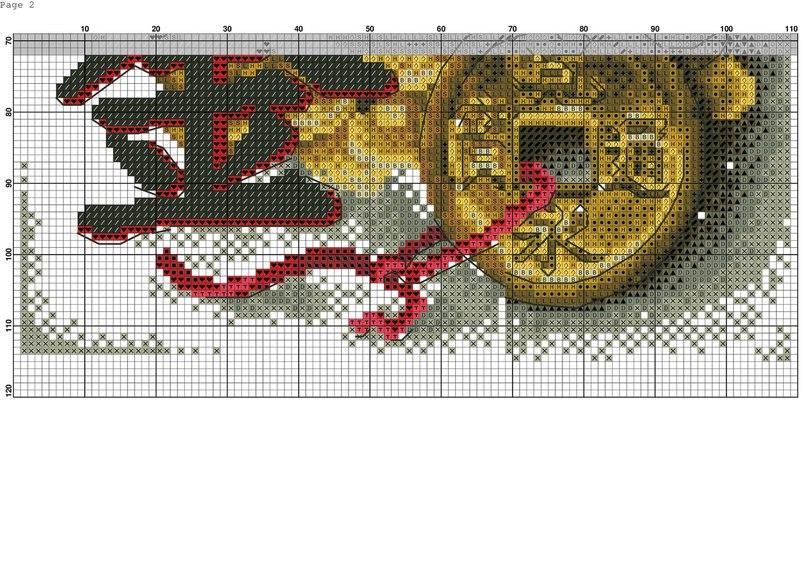 Создание собственной схемы вышивки крестиком из изображения/фотографии