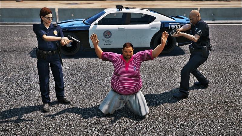 GTA 5 Полицейдің өмірі