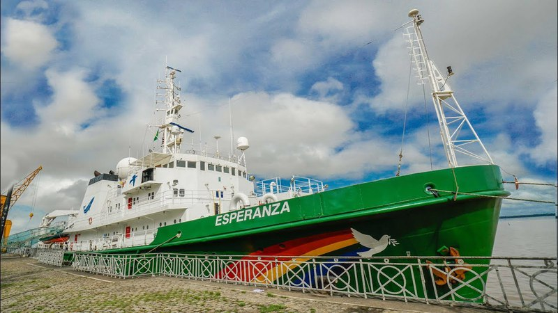 Como funciona um navio do Greenpeace Boravê