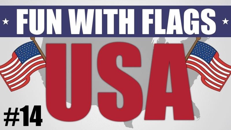 Fun With Flags 14 - Flag of the U.S.A.