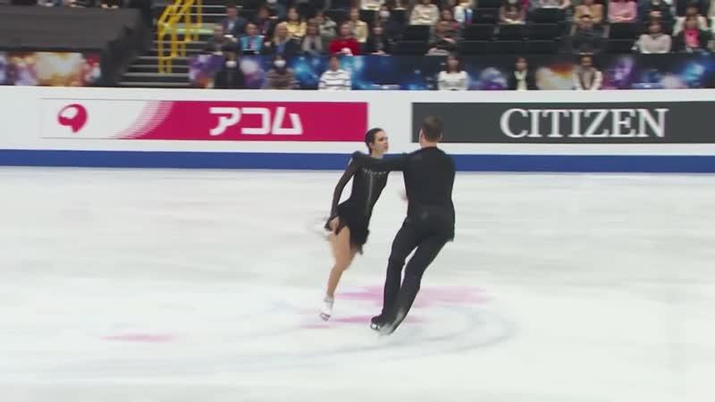 Наталья Забияко и Александр Энберт FS 2018 2019
