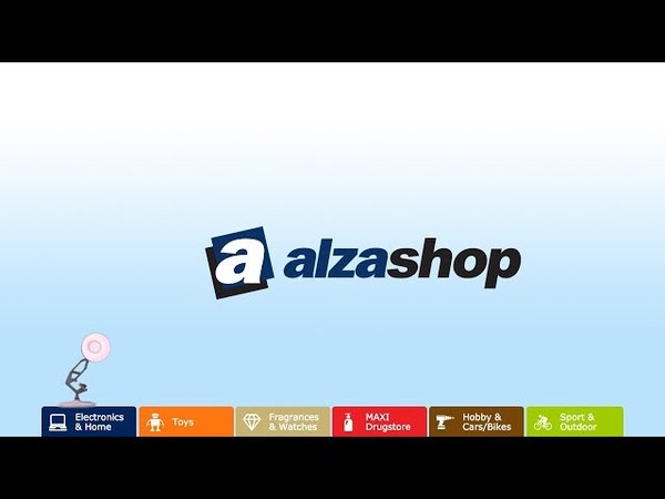 1156-Alza Shop Spoof Pixar Lamps Luxo Jr Logo