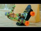 Черепашки Ниндзя 2014 мультфильм из игрушек - песенка мультклип