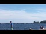 Онежское озеро. Петрозаводск. Карелия.