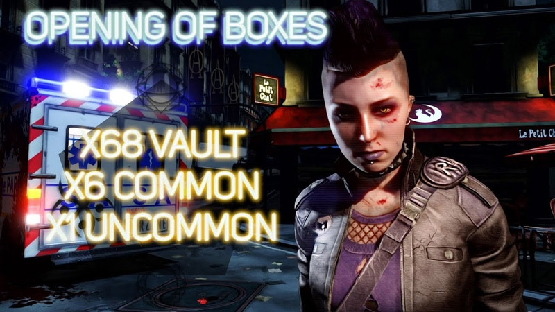 Game | KILLING FLOOR 2 OPENING OF 68 VAULT BOXES! 6 common 1 uncommon