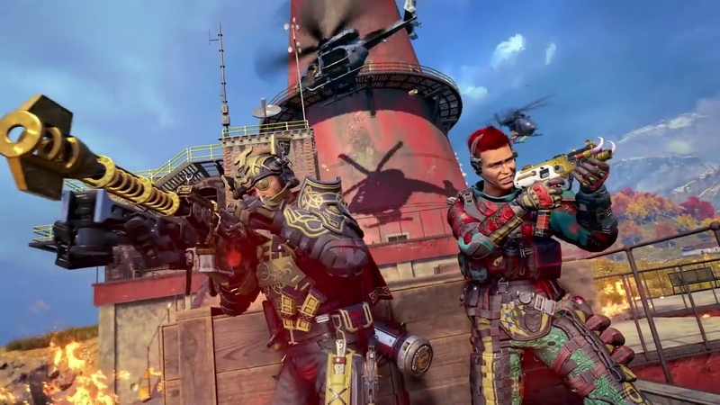 Call of Duty Black Ops 4 Blackout Battle Royale бесплатная пробная версия