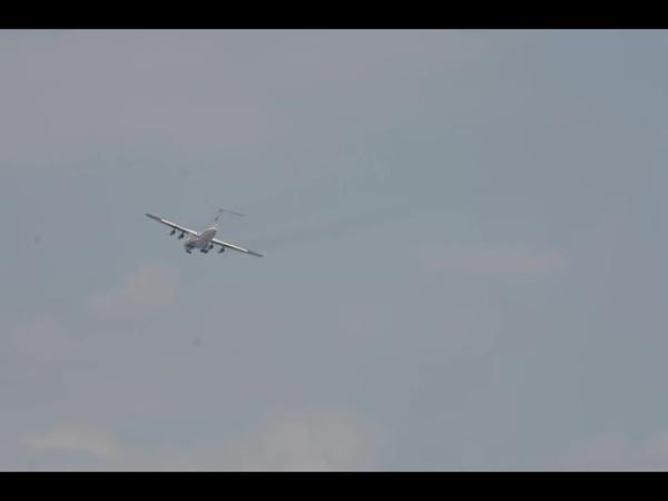 Ил-76 EW-005DE ВВС РБ. АвiяАматарTV
